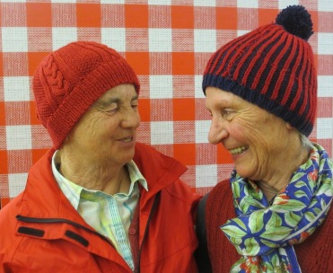 Linde Mayerhofer (links), Anna Burger (rechts) Pfarrwerfen