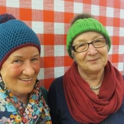 Margit Steiner (links) Radstadt, Renate Holzmann (rechts) Pfarrwerfen