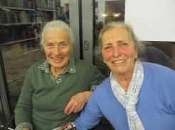 Theresia Thurner (links) Flachau, Rosina Kirchgasser (rechts) Filzmoos