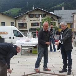 Standortbestimmung mit dem Bürgermeister