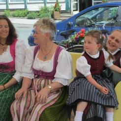 Angelika, Waltraud, Franzi und Anneliese
