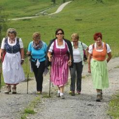 Maria, Anneliese, Angelika, Margit, Monika