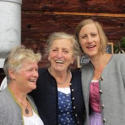 Waltraud, Rosi und Clara