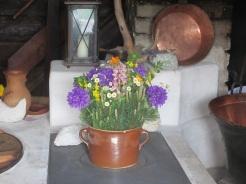 schöner Blumenschmuck