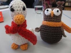 Ente und Uhu von Adelheid