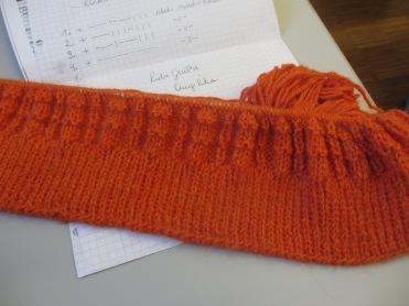 Alpaka in orange