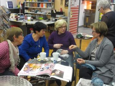 Traudi, Heidi, Erika und Maria