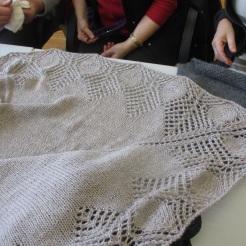 Schultertuch aus Alpakawolle von Renate