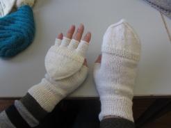Handschuhe für eine Musikantin