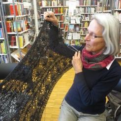 feiner Schal aus Königshof-Alpakawolle von Anna
