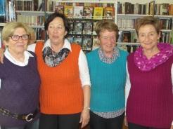 Pullunder-Girls Erika, Angelika, Margit, Anneliese