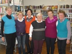 Pullundergirls Anni, Erika, Angelika, Maria, Anneliese, Margit