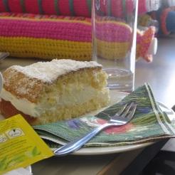 köstliche Käsesahne-Torte aus dem Cafe der Lebenshilfe