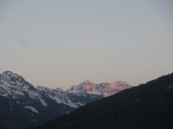 Sonnenuntergang am Seekarspitz