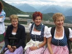 Margit, Monika und Anneliese
