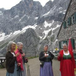 Anna Burger, Anna Wieser, Greti und Anna Pernhofer