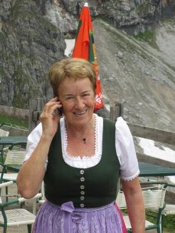 Margit auch in der Höhe sehr gefragt!