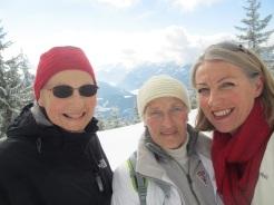 Anneliese, Theresia und Elisabeth