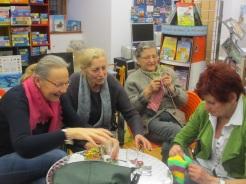 Anneliese, Rosi, Hilde und Monika