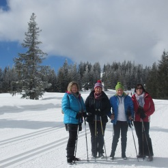 Maria, Anneliese, Margit und Angelika