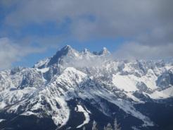 Blick auf Torstein, MItterspitz und Dachstein