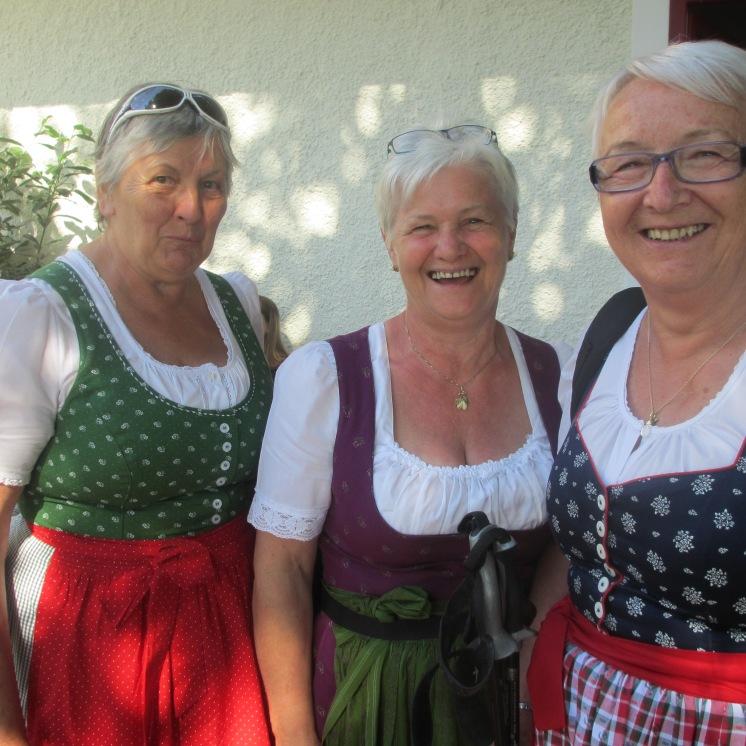 Anna, Waltraud und Renate