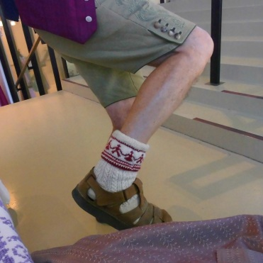 Diandl-Bua-Socken
