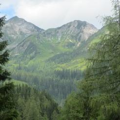 Steinfeldspitze und großer und kleiner Bärenstaffel