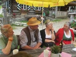 Rosi, Hias, Waltraud und Anna