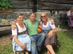 Linde, der Almbauer Peter und Elisabeth