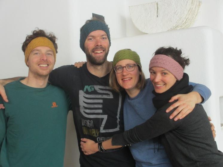Christoph, Lukas, Clara, Janna