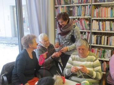 Hilde, Theresia und Katja