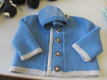 Erikas Babygarnitur in blau