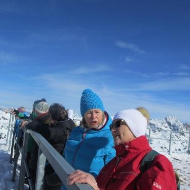 Maria Gotthard und Greti Wieser