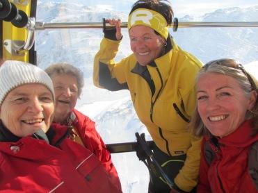Greti, Hilde, Herta und Elisabeth