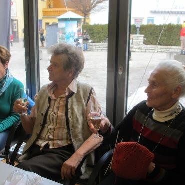 Margit, Hilde und Theresia