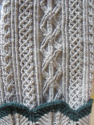 Detail aus Renates Stutzen