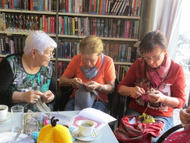 Maria, Margit und Barbara