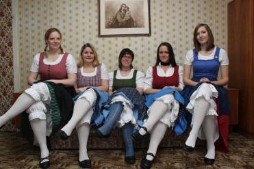 FriesacherFrauenZimmerMusi zu hören am 28.Mai im Gasthof Stegerbräu