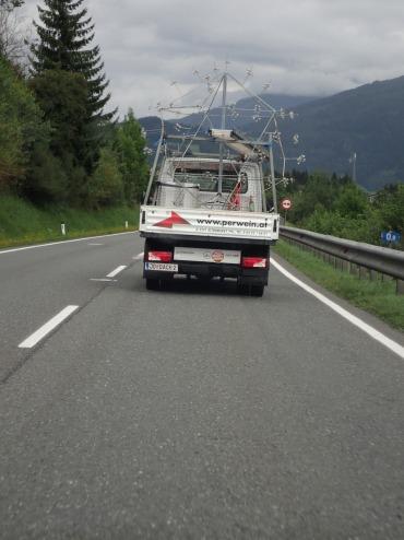 Transport von Saalfelden nach Radstadt