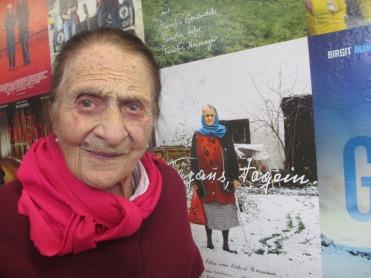 Thresl Handl mit fast 106 Jahren noch zu zu Besuch in Radstadt