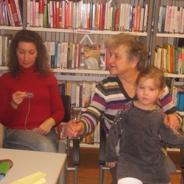 Maria, Hilda und Enkerl