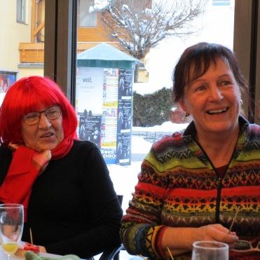 Erika und Geburtstagskind Barbara
