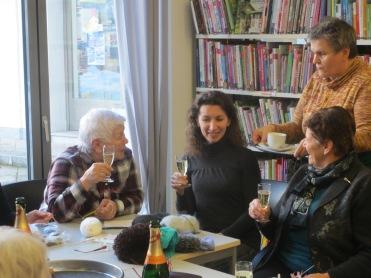 Maria Maier, Maria Brown, Gabi und Greti Wieser