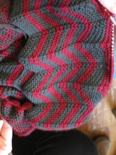 raffiniertes Muster für einen Schal von Maria