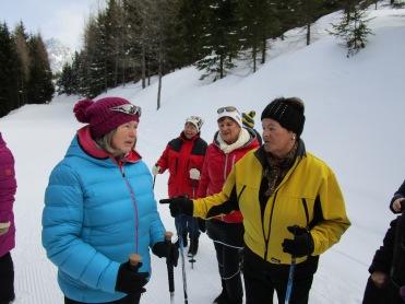 Maria, Heidi, Monika und Herta