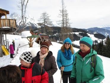 Heidi, Elfi, Angelika und Barbara