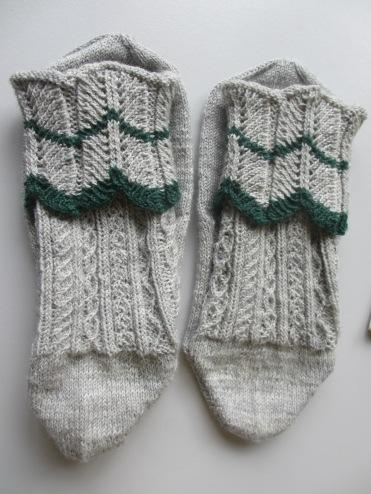 Modl_-Socken mit Mariazeller Umschlag von Erika