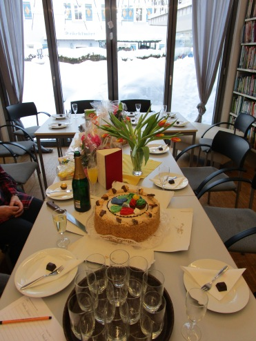 Geburtstags Tafel
