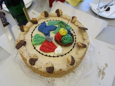 """beeindruckende """"Strick-Torte"""""""